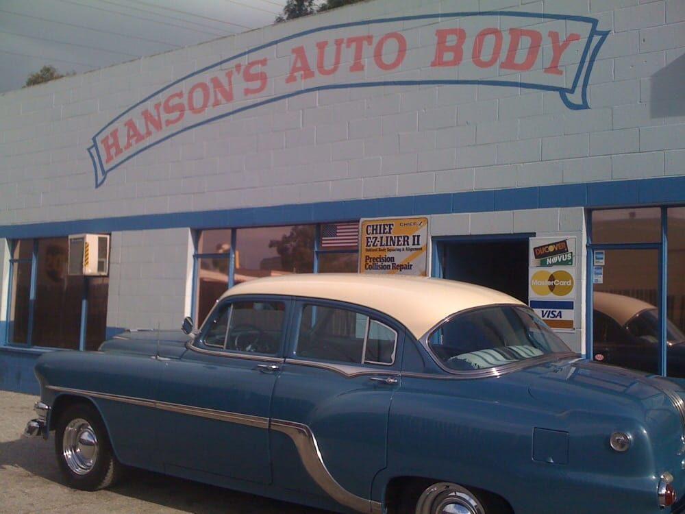 Gay lesbian lgbt friendly collision repair burlingame for Hanson motors service department