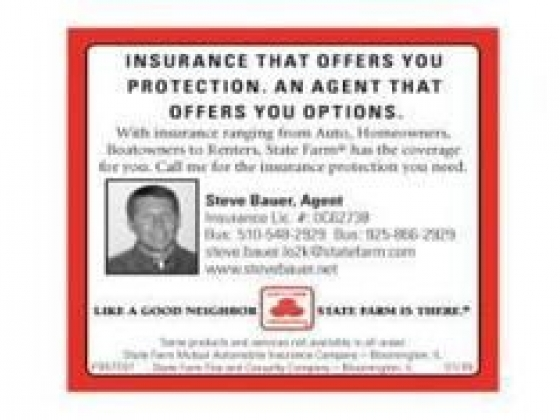 State Farm Agent, Steve Bauer