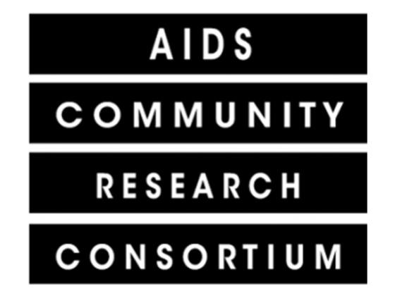 AIDS Community Research Consortium | ACRC